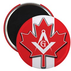 Masons Maple Leaf Magnet
