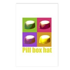 Pill box hat Postcards (Package of 8)