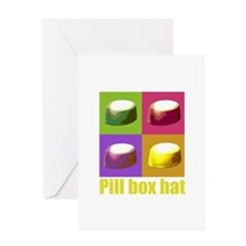 Pill box hat Greeting Card
