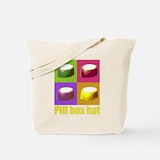 Pill box hat Tote Bag