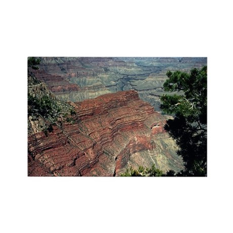 Grand Canyon Red Rock Rectangle Magnet (10 pack)