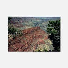Grand Canyon Red Rock Rectangle Magnet
