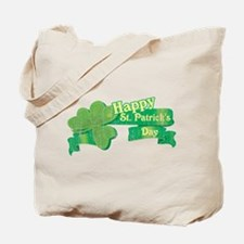 Vintage Happy St. Patrick's Day Tote Bag