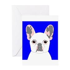 Frenchy (Cream) Greeting Card