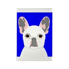 Frenchy (Cream) Rectangle Magnet
