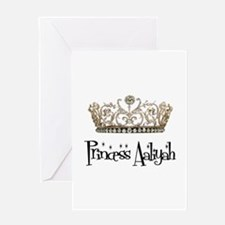 Princess Aaliyah Greeting Card