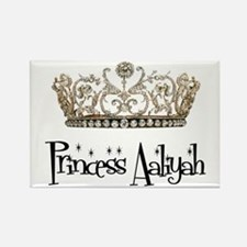 Princess Aaliyah Rectangle Magnet