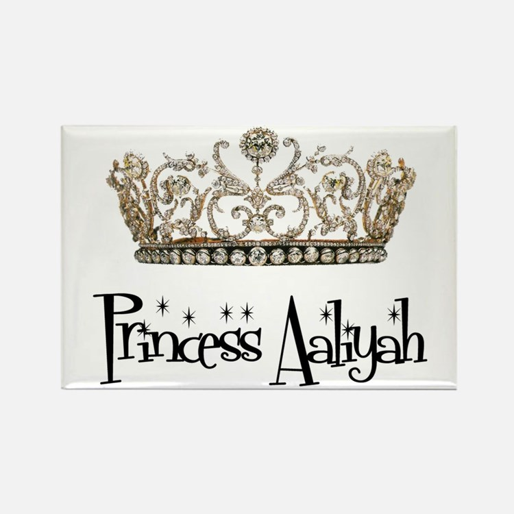 Princess Aaliyah Rectangle Magnet