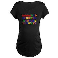 Adrian - Alphabet T-Shirt
