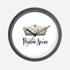 Princess Aimee Wall Clock