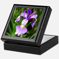 Wild Iris Keepsake Box
