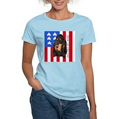 Patriotic Black & Tan T-Shirt