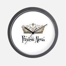 Princess Alexia Wall Clock
