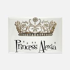 Princess Alexia Rectangle Magnet
