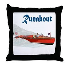 The Runabout Throw Pillow