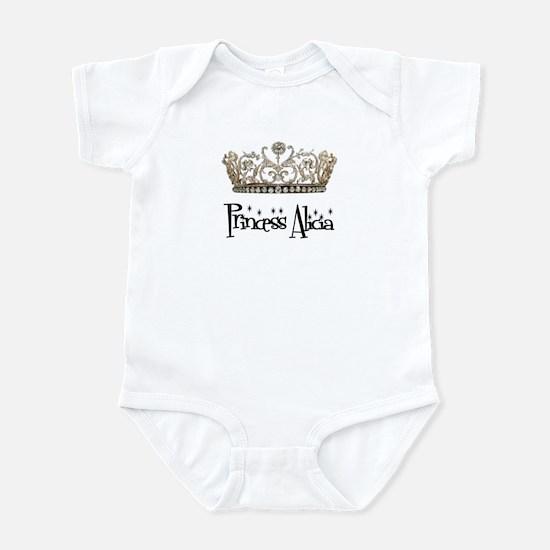 Princess Alicia Infant Bodysuit