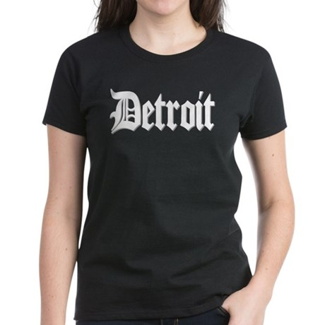 Detroit T-Shirts Women's Dark T-Shirt