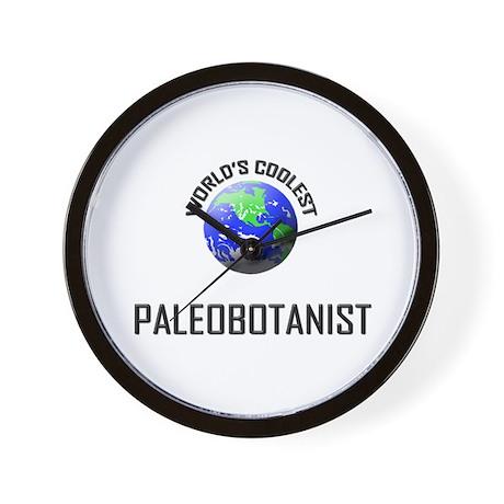 World's Coolest PALEOBOTANIST Wall Clock