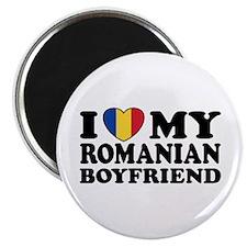 I Love My Romanian Boyfriend Magnet