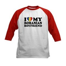 I Love My Romanian Boyfriend Tee