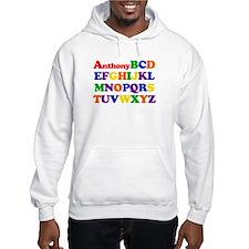 Anthony - Alphabet Jumper Hoody