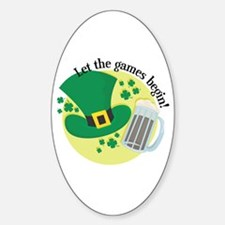 St. Paddy's Day- Let the Games Begin! Decal