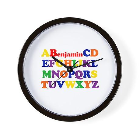 Benjamin - Alphabet Wall Clock