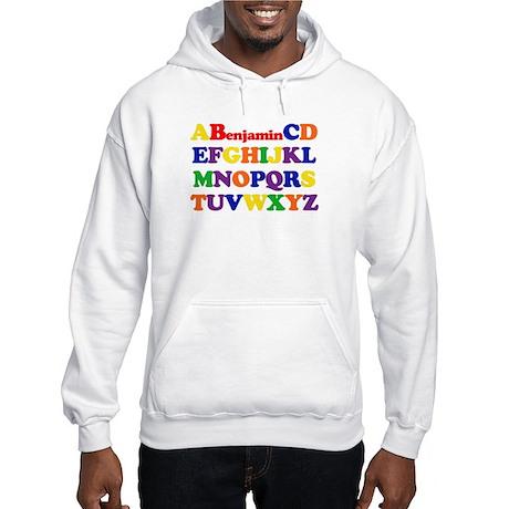 Benjamin - Alphabet Hooded Sweatshirt