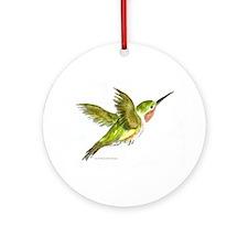 Hummingbird Ornament (Round)