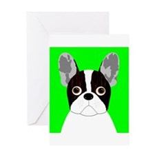 Frenchy (Pied) Greeting Card