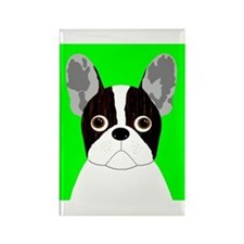 Frenchy (Pied) Rectangle Magnet
