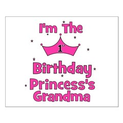 1st Birthday Princess's Grand Posters