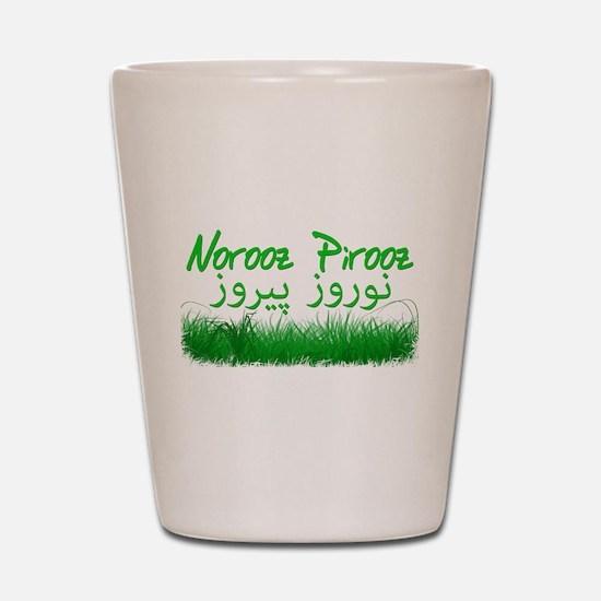 Persian New Year Shot Glass
