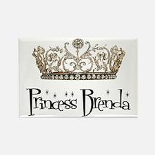 Princess Brenda Rectangle Magnet