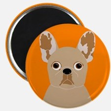 """Frenchy (Fawn) 2.25"""" Magnet (10 pack)"""