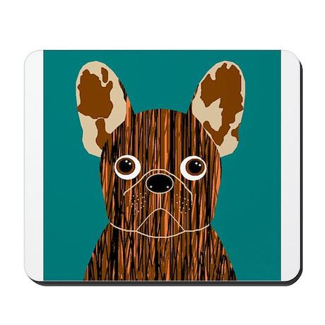 Frenchy (Brindle) Mousepad
