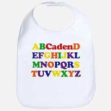 Caden - Alphabet Bib