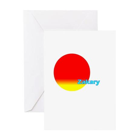 Zakary Greeting Card