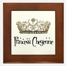Princess Cheyenne Framed Tile