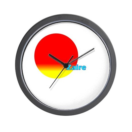 Zaire Wall Clock