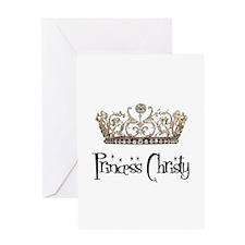 Princess Christy Greeting Card