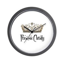 Princess Christy Wall Clock