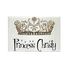 Princess Christy Rectangle Magnet