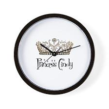 Princess Cindy Wall Clock