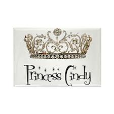 Princess Cindy Rectangle Magnet