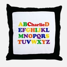 Charlie - Alphabet Throw Pillow