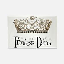 Princess Dana Rectangle Magnet