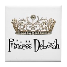 Princess Deborah Tile Coaster