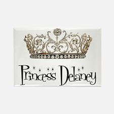 Princess Delaney Rectangle Magnet