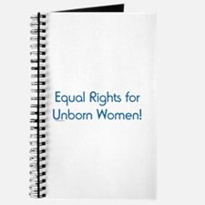 Equal Rights for Unborn Women Journal
